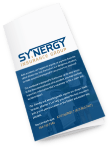 Auto Accident Workbook | Synergy Insurance